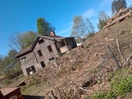 Kollade in gammalt hus på Lidingö.