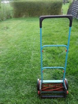 Klippte gräset.