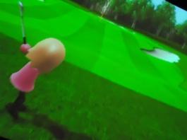 Golfade i Wii.