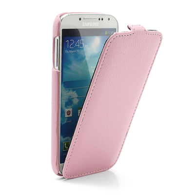 Melkco Flipfodral Galaxy S4 rosa1