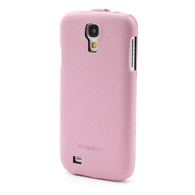 Melkco Flipfodral Galaxy S4 rosa3