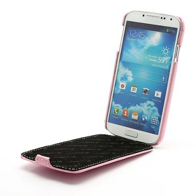 Melkco Flipfodral Galaxy S4 rosa4