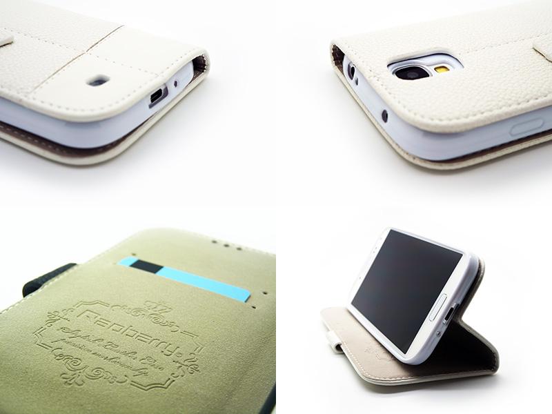 Redberry Plånboksväska till Samsung Galaxy S4 4