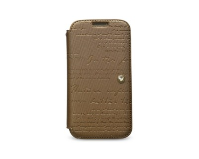 Zenus Masstige Lettering Diary till Samsung Galaxy S4 i9500 (Brun)18040669-origpic-2c6995