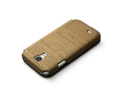 Zenus Masstige Lettering Diary till Samsung Galaxy S4 i9500 (Brun)18040669-origpic-f44759