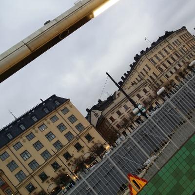Tågbyte på G hemåt.