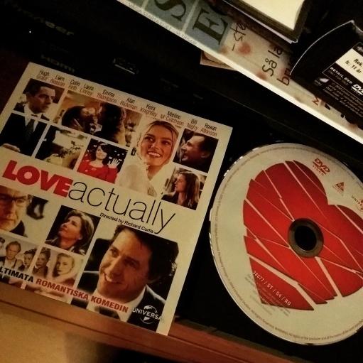 Såg kärleksfilm.