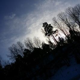 Fotade bild på dagen som såg ut som natt. :)