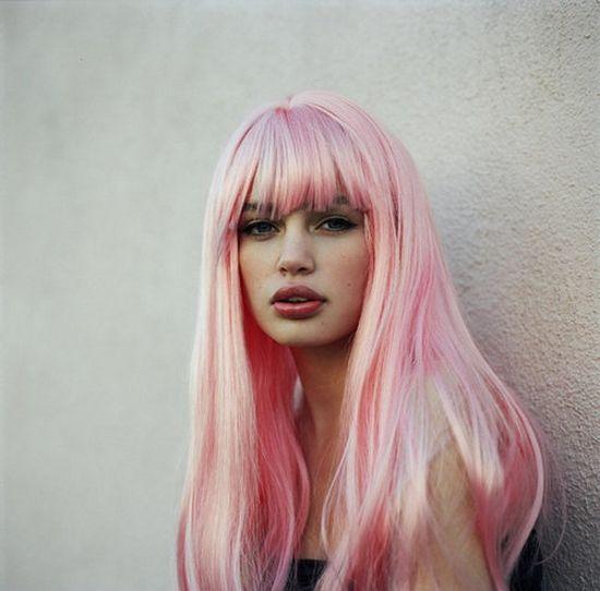 pink hair 7