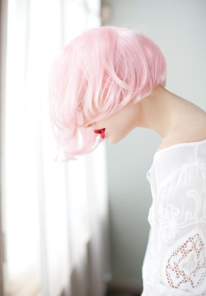 pink hair 9