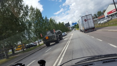 Militärt ?-fordon.