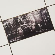 Historiska bilder på campingtoan.