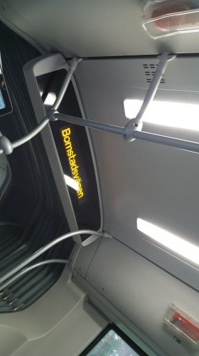 Regnbuss till Bergvik.