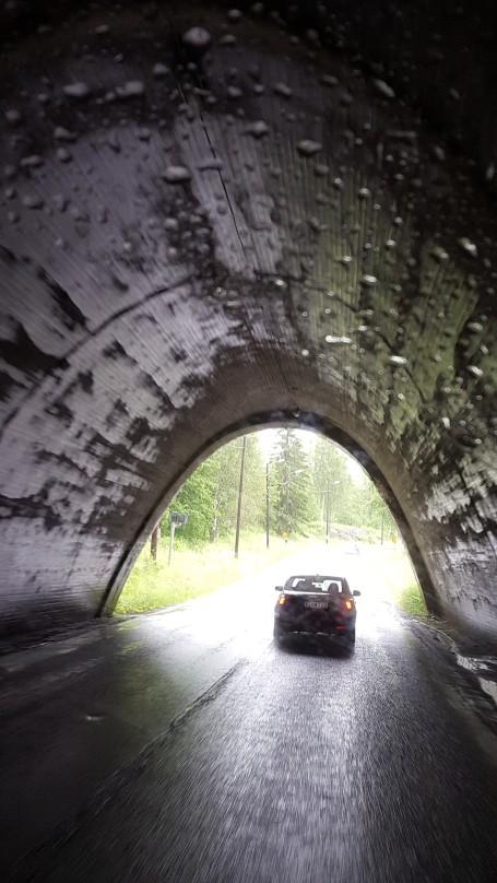 Halvsuddig bild, men tycker den lilla tunneln är så cool.