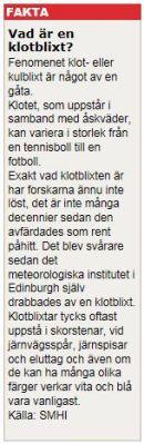 Klotblixt - SMHI