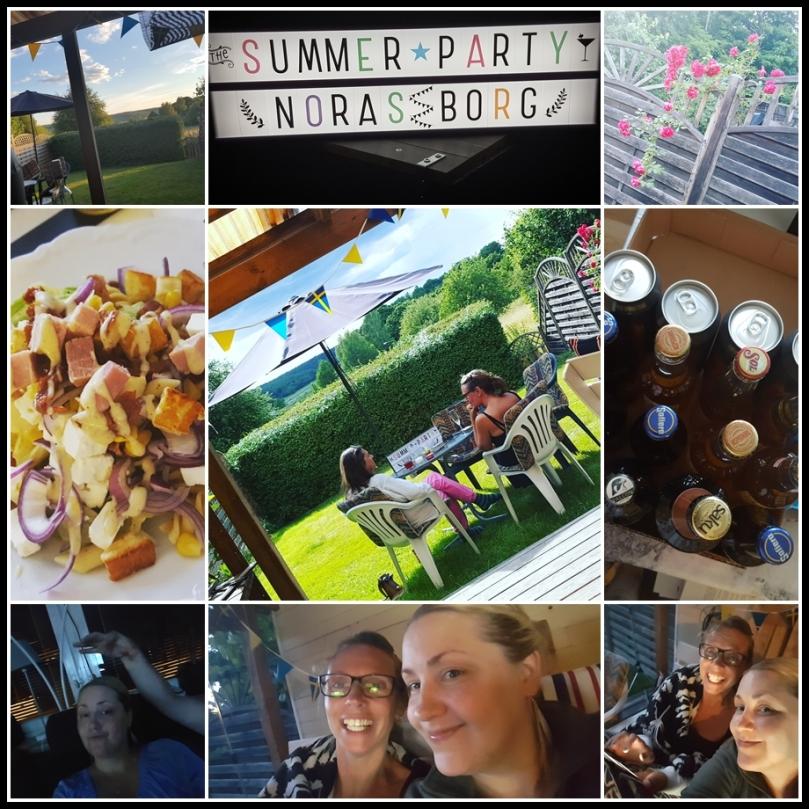 summer party - noras borg - 2016