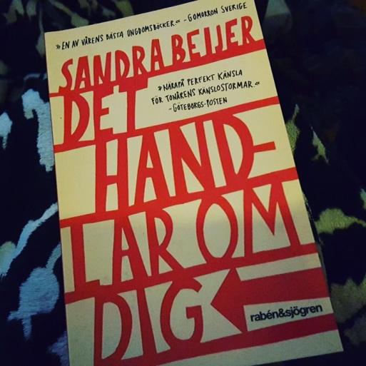Kallas 'ungdomsbok', men det är sånt jag gillar just nu. En fin bok om kärleken och livet i tonåren. <3